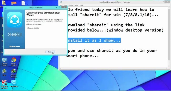 shareit for laptop,windows